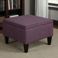 HomePop Large Decorative Storage Ottoman | Living Together!!! | Pinterest |  Extra Storage Space, Extra Storage And Ottomans