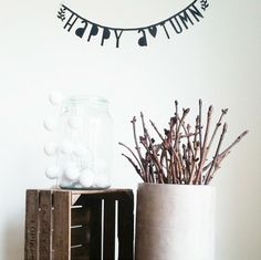 Happy - Buy it at www. Thing 1, Party Banners, Happy Fall, Room Decor, Display, Words, Lightbox Quotes, Instagram, Rain