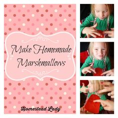 Make Homemade Marshmallows -- Just in time to make homemade marshmallow Peeps for Easter, here you go…