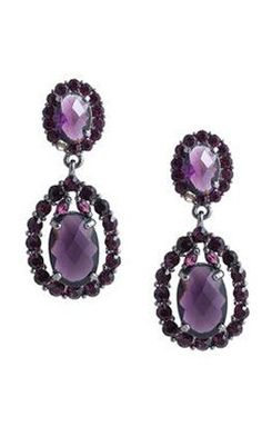 Purple Rain Earrings ♥