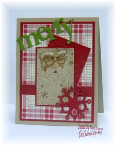 CC434 ~santa collage~ by MaryR917 - Cards and Paper Crafts at Splitcoaststampers