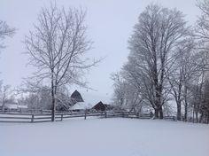 The barn next door to Honey Hill Farmstead