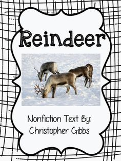 Reindeer Nonfiction Text and Tree Map Activity Map Activities, Learning Activities, Tree Map, Bad Teacher, Text Types, Cut And Paste, Holiday Themes, Woodland Animals, Teacher Newsletter
