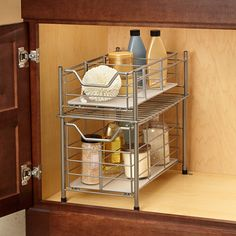 A handy addition to your bathroom, this cabinet drawer has a removeable plastic base, plus dividers for organizing your stuff. Drawer Shelves, Cabinet Drawers, Large Drawers, Drawer Storage, Storage Cabinets, Storage Baskets, Best Bath, Bathroom Cabinets, Bathroom Sinks