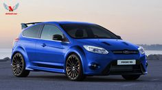 ford+focus | 2014 Ford Focus RS Blue (Rendering)
