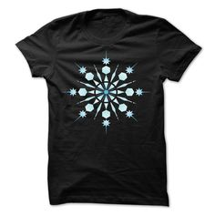 Christmas Snowflake Hoodie and TShirt. Cute, Clever and Funny Christmas Quotes, Sayings, T-Shirts, Hoodies, Tees, Tank Tops, Gifts.