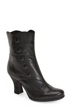 Miz Mooz Miz Mooz 'Kitty' Bootie (Women) available at Victorian Style Clothing, Victorian Boots, Victorian Fashion, Victorian Era, Steampunk Boots, Steampunk Clothing, Autumn Fashion Women Fall Outfits, Wedding Boots, Miz Mooz