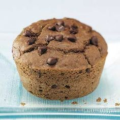 Donna Lovestrand in Seneca, Pennsylvania, created the perfect gluten-free Chocolate Chip Muffin recipe for her friend with celiac disease — from Taste of Home