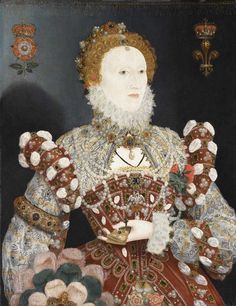 "mygoodqueenbess:  Queen Elizabeth I, The Pelican Portrait, 1573-75, Walker Art Gallery, National Museums Liverpool. ""This famous likeness of Elizabeth I is known as the 'Pelican Portrait' because of the pendant on the Queen's breast, representing a mother pelican feeding her young with drops of her own blood. The bird is a traditional emblem of Christian self-sacrifice. Here it symbolises the Queen's devotion to the service of her subjects. This picture was painted about 1574, when…"