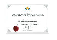 BPJS Ketenagakerjaan Raih ASSA Award