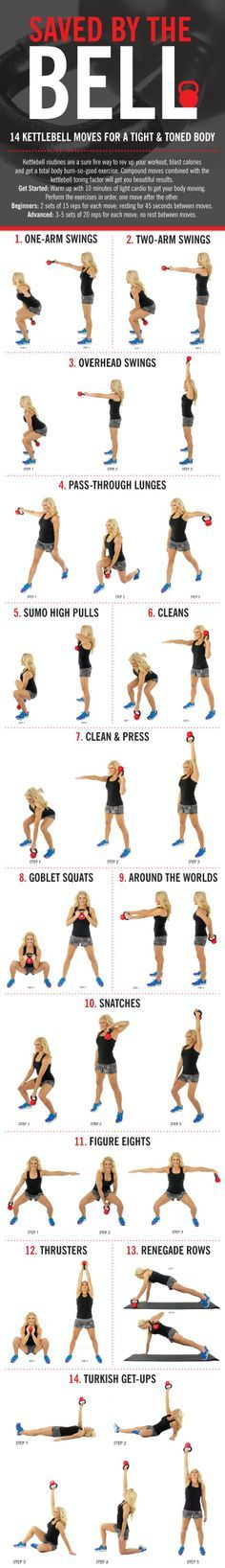 Keep this graphic handy when doing your workout!