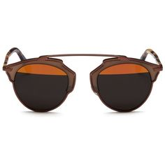 8b0b99ffc8 DIOR  Dior So Real  tortoiseshell temple inset metallic stripe sunglasses.