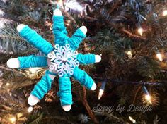 savvy by design: Holiday Hustle: Kid's Christmas Ornament