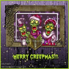 Sniffing Glue Dots: On the 6th Day of Creepmas, Zombie Carolers Sang to Me.