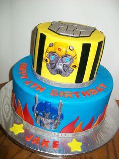 transformers cake by debi1976