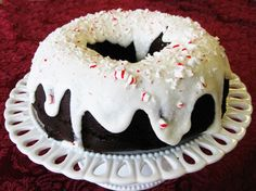 Fudgy Peppermint Cake - A Beautiful & Delicious Holiday Dessert | Land O'Lakes