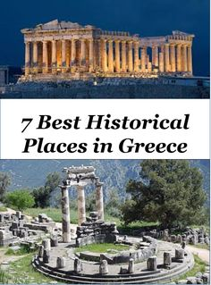 Greece is country rich in history, food, beaches and culture. Here are 7 Best Historic Places to Visit in Greece. #Greece #History #HistoricPlaces #AncientRuins