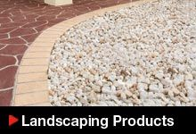 A wide range of landcaping products including pebbles and more