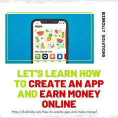 If you are looking to earn money online then check out how you can make money by creating your mobile app. Online Earning, Earn Money Online, Create Your Own App, Image Apps, News Apps, Online Checks, Mobile App Development Companies, Best Mobile, How To Make Money