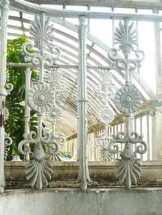 19TH CENTURY, Engineering Architecture, England - detail, Palm House, Royal Botanical Gardens, Kew, Surrey, designed 1844. executed 1845-8, by Decimus Burton and Richard Turner.