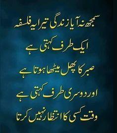 UrduPoetryPoint: Zindagi Tera Falsafa