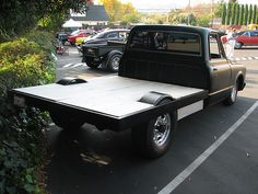 1968-69 GMC Flatbed Truck (Custom) '5Y51684' 2 by Jack_Snell, via Flickr