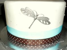 more dragonfly cake !