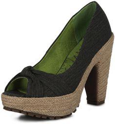 Blowfish - Vanamo Peeps, Peep Toe, Shoes, Black, Fashion, Moda, Zapatos, Shoes Outlet, Black People