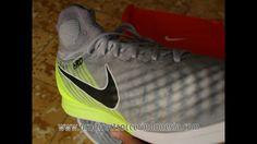 best service c699b 50f60 Sepatu Futsal Nike Magistax Proximo II DF IC Wolf Grey 843957 004 Original