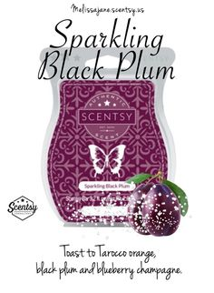 Scentsy 2016 | Sparkling Black Plum |New release | Fall & Winter | #scentsy…