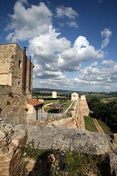 Toscana Poggibonsi - Fortezza di Poggio Imperiale #TuscanyAgriturismoGiratola