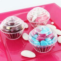Cupcake dragées lot de 3