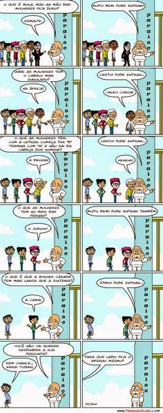Responda corretamente as perguntas - Humor Engraçado