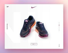 Brilliant @Nike website concept by @brand0ngr0ce  - Brandon Groce is a designer Developer Motion Designer & Martial Artist living in Washington DC.  If you're interested in him check him out for similar inspiration on his page @brand0ngr0ce   #minimalism #nike #product #shoes #design #ui #uidaily #web #interface #gradient #composition #layout #ux #navigation #behance #inspiration #designers #dribbble #buttons #dev #tech #simple #brilliant #awwwards #www #webbyawards #digitaltrends #webdev…