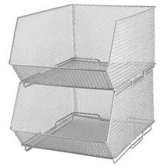 "ClosetMaid 17.8""W Storage Drawer & Reviews   Wayfair Under Cabinet Storage, Drawer Storage Unit, Pantry Storage, Storage Bins, Storage Containers, Storage Spaces, Arts And Crafts Storage, Craft Storage, Pot And Pan Lids"