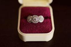 1930s Gatsby inspired wedding ring