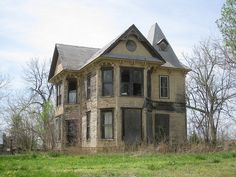 Muscotah mansion - too many homes are neglected.  This style will never be built again.