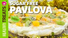 Pavlova! Sugar Free, Gluten Free, LCHF Tropical Christmas Pavlova Recipe  https://www.youtube.com/watch?v=u5eB5HIDo5o&list=PL5LtYNzQ2O5FFoO3X24-iJLFOlsrO2zR7&index=1 #Pavlovarecipe #Pavlova #sugarfree