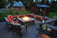 Build a cozy and warm place in your backyard or patio by diy fire pit. ... You will need nothing more than bricks, stone pavers or some other ... This is also one of the most convenient outdoor fire pit ideas to have up your .