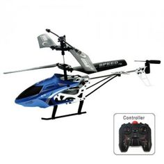 2.5 Channel 2.5CH Scale IR Helicopter & Infrared R/C Remote Control Helicopter - Blue
