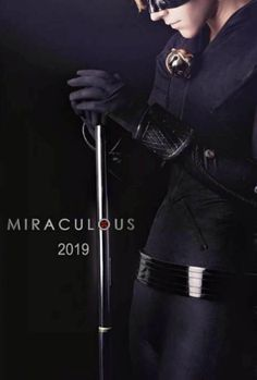 Omg chat noir but his suit is not leather but it's close enough but the movie is coming out in 2019 lol yay