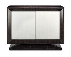 DAVIDSON London - The Hanover Cabinet finished in dark tinted macassar ebony & white gold #GoldSeason