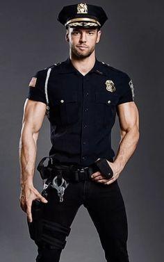 Hairy Men, Bearded Men, Scruffy Men, Sexy Military Men, Hot Cops, Hunks Men, Hommes Sexy, Men In Uniform, Muscular Men