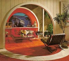 Is this not the living room inside of every 70s pulp fiction novel you ever read?