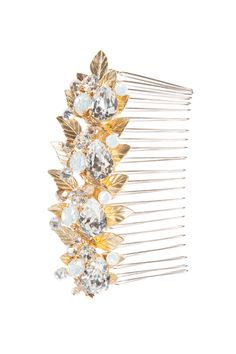 Hair & Head Jewelry Humor Bridal Wedding Dangle Flower Girl Crystal Headpiece Rhinestone Hair Comb Drip-Dry