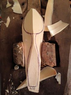 Part of Jeff Lotsofwoods spoon carving process. I've never done it this way before. Worth a try,