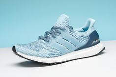 44a525583fb51 adidas gives women a fresh summer option with this light blue Ultra Boost  3.0. Adidas