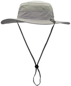 254e5601a10bd Camo Coll Outdoor Sun Cap Camouflage Bucket Mesh Boonie Hat (French Grey
