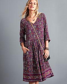 Easy Bohemian Dress