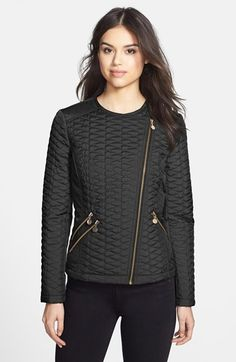 366321860e aB Quilted Moto Jacket available at  Nordstrom